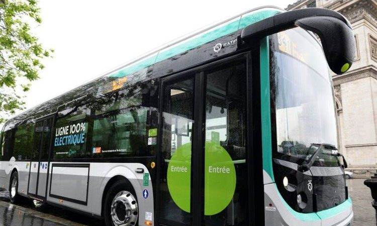 Paris orders 800 electric buses to fight air pollution in the city