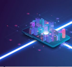 smart cities phone image