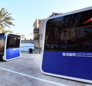 World's first autonomous pods are tested by RTA Dubai