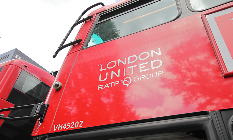 RATP Dev runs buses in London