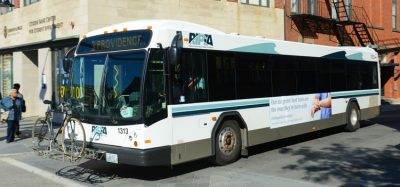 Rhode Island buses equipped with solar systems
