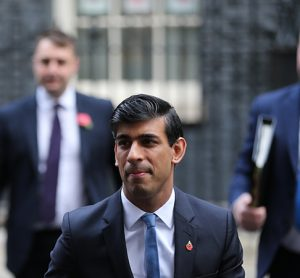 rishis sunak leaves downing street