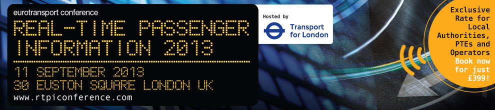 Real-Time Passenger Information 2013