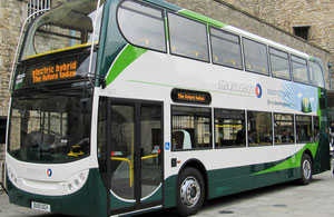 s300 green bus