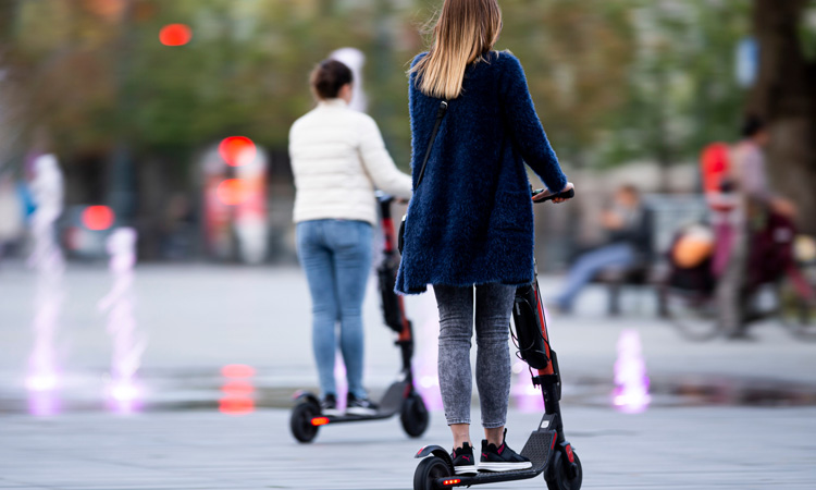 Study finds spike in e-scooter injuries in the U.S.