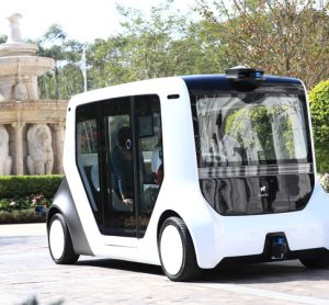 Seedland launches pilot of China's first autonomous commuter vehicle
