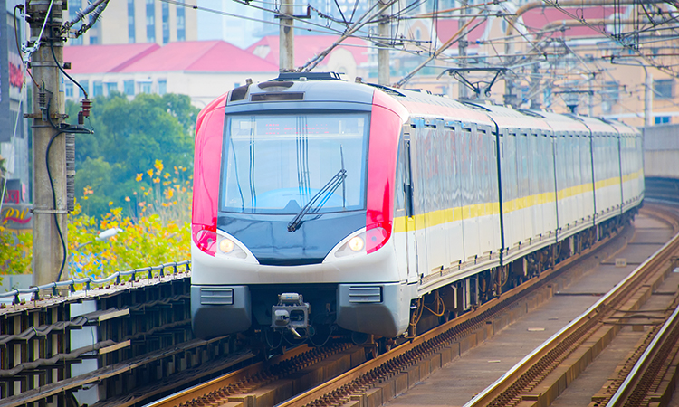 shanghai metro train