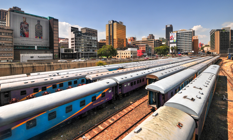 train station in africa