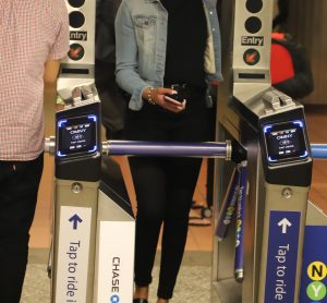 MTA tap in contactless