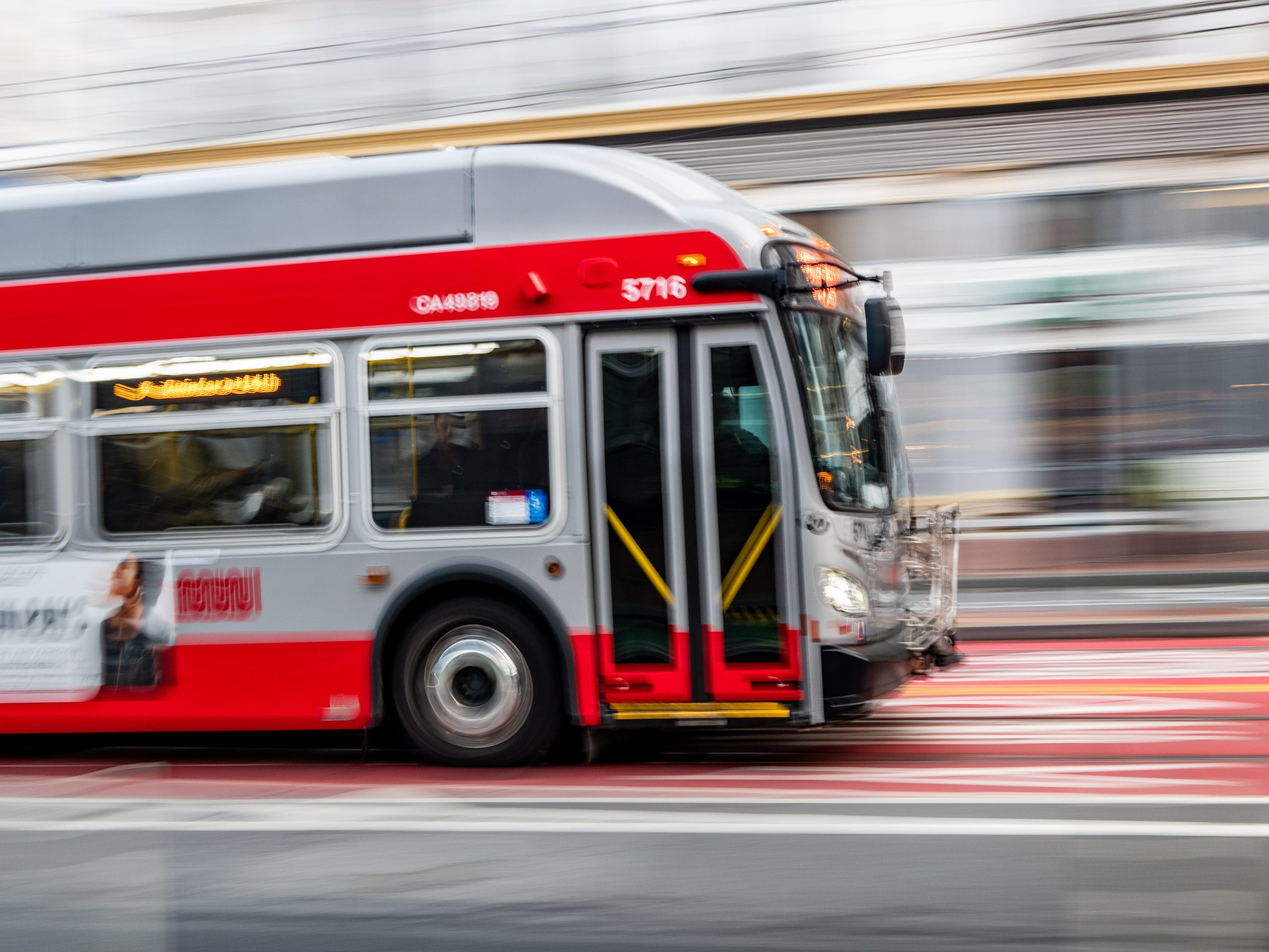 muni san Francisco bus