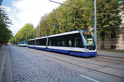 public transport in Riga