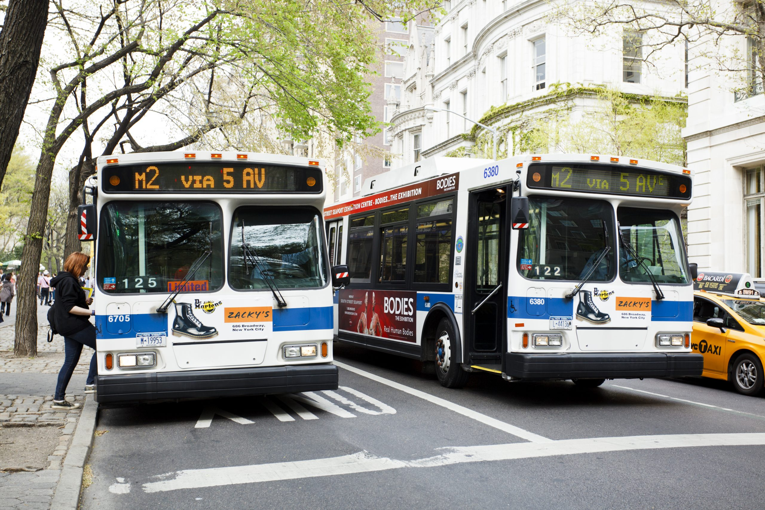 new york buses