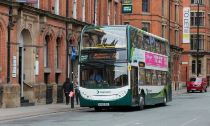 Stagecoach Manchester bus drivers awarded for safe and fuel-efficient driving