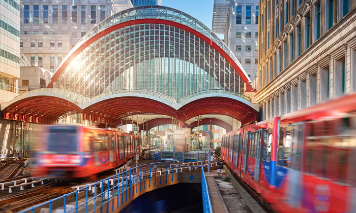 New generation of DLR trains en route to support London's growth