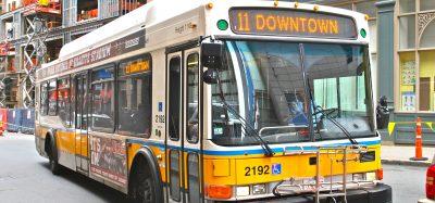 Bus in Boston