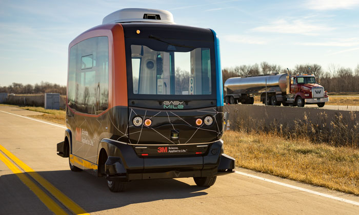 On-demand, driverless shuttles have arrived in North America