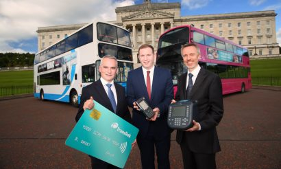 £45m smart ticketing investment to transform public transport in Northern Ireland