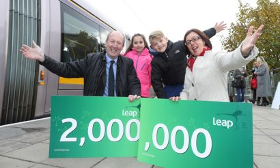 2 million Leap Cards sold in since launch of Ireland's smart ticketing initiative