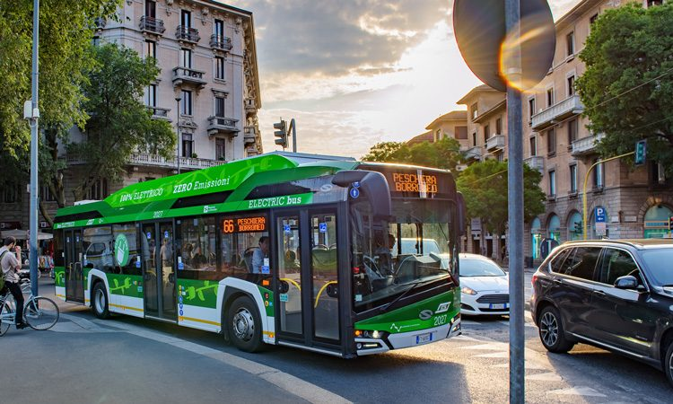 Milan choose Solaris as supplier of up to 250 electric buses