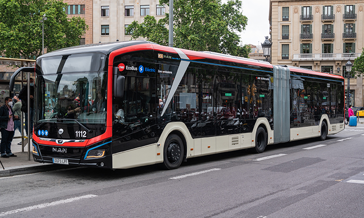 TMB will trial the new e-bus