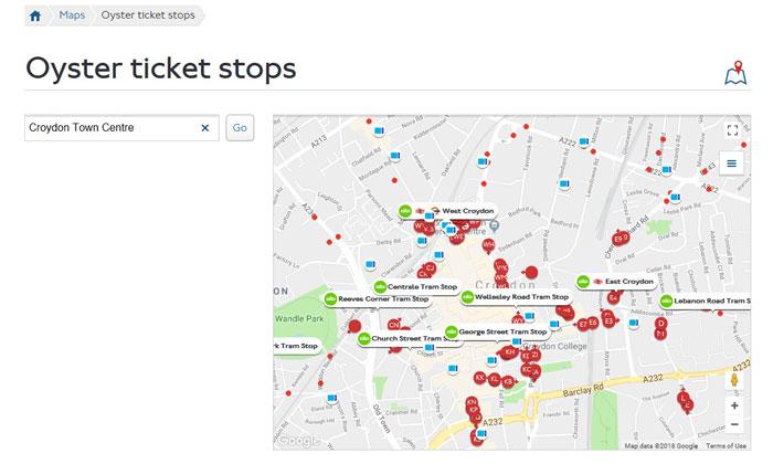 trams tickets