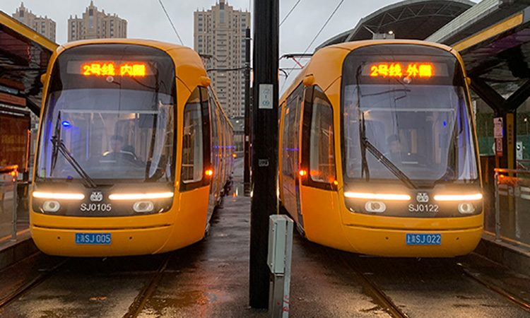 Keolis has opened a new section of its first tram network in China