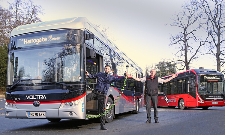 transdev electric bus trial