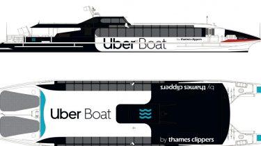 Uber boat sketch