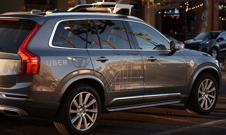 uber has sold its driverless car business