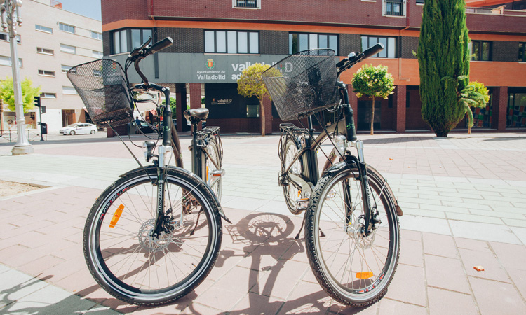 bikes in city