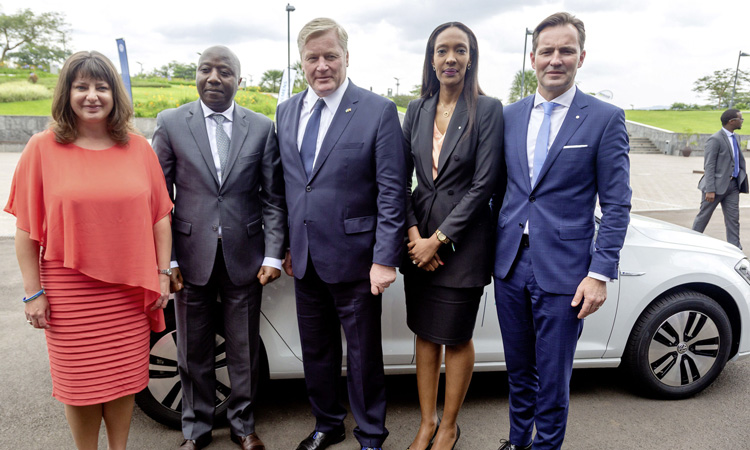 Volkswagen and Siemens launch Africa's first electric mobility pilot