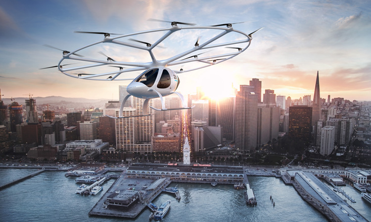Volocopter releases roadmap for urban air mobility implementation