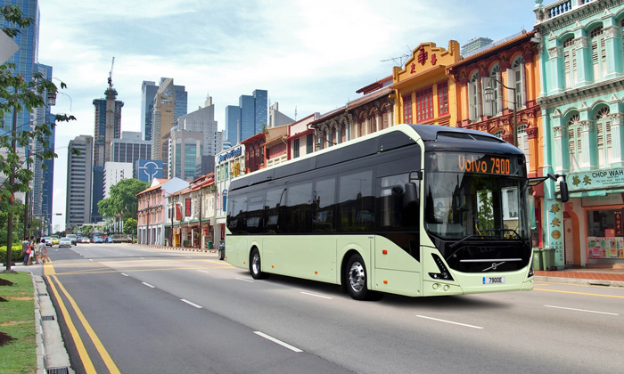NTU and Volvo to jointly develop autonomous electric buses in Singapore